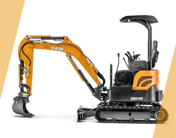 Case minikaivukone CX17C maarakennustöihin, Case construction, maarakennus, maarakennuskoneet, kaivukoneet, kaivinkoneet, minikaivukoneet, konevuokraus, konemyynti, konevuokraamo, Rentti