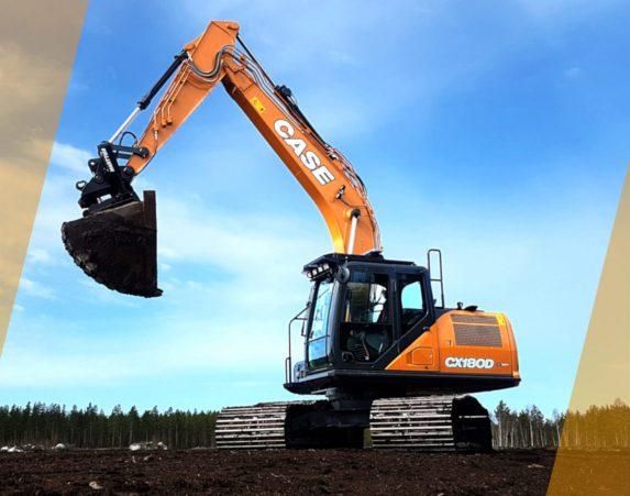 Case normaaliperäiset telakaivukoneet CX130D maarakennustöihin, Case construction, maarakennus, maarakennuskoneet, kaivukoneet, kaivinkoneet, normaaliperäiset telakaivukoneet, konevuokraus, konemyynti, konevuokraamo, Rentti