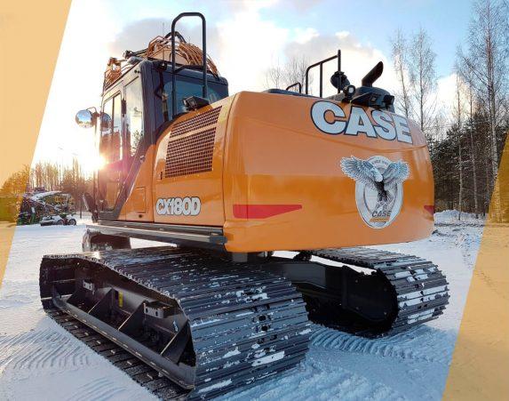 Case normaaliperäiset telakaivukoneet CX180D maarakennustöihin, Case construction, maarakennus, maarakennuskoneet, kaivukoneet, kaivinkoneet, normaaliperäiset telakaivukoneet, konevuokraus, konemyynti, konevuokraamo, Rentti