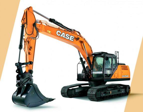 Case normaaliperäiset telakaivukoneet CX250D maarakennustöihin, Case construction, maarakennus, maarakennuskoneet, kaivukoneet, kaivinkoneet, normaaliperäiset telakaivukoneet, konevuokraus, konemyynti, konevuokraamo, Rentti
