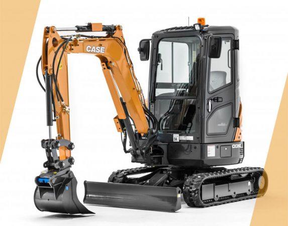 Case minikaivukone CX26C maarakennustöihin, Case construction, maarakennus, maarakennuskoneet, kaivukoneet, kaivinkoneet, minikaivukoneet, konevuokraus, konemyynti, konevuokraamo, Rentti