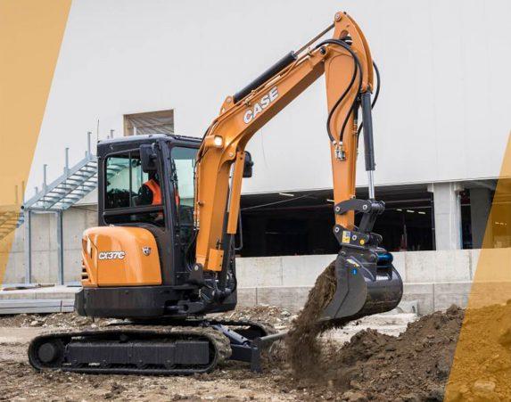 Case minikaivukone CX37C maarakennustöihin, Case construction, maarakennus, maarakennuskoneet, kaivukoneet, kaivinkoneet, minikaivukoneet, konevuokraus, konemyynti, konevuokraamo, Rentti