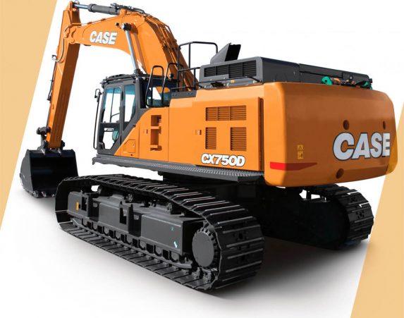 Case normaaliperäiset telakaivukoneet CX750D maarakennustöihin, Case construction, maarakennus, maarakennuskoneet, kaivukoneet, kaivinkoneet, normaaliperäiset telakaivukoneet, konevuokraus, konemyynti, konevuokraamo, Rentti
